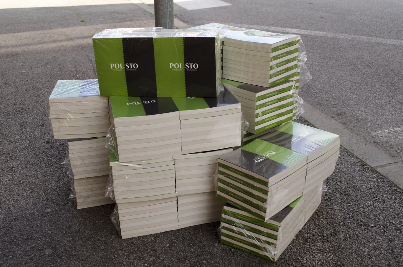 Kniha POLSTO, foto: Karin Stodolová