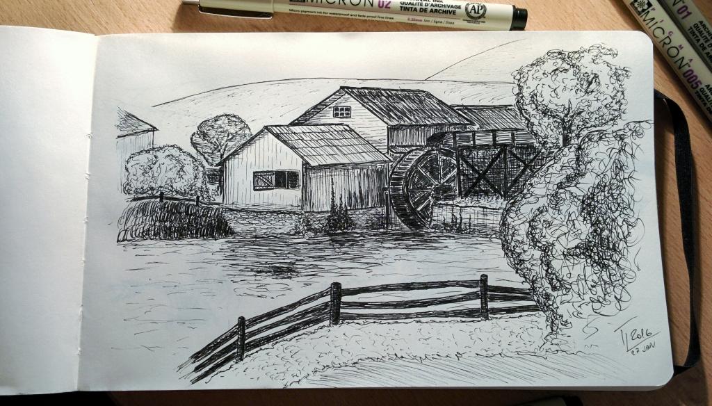 Vhodný mlyn